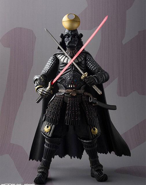 Tamashii Movie Realization Star Wars Samurai Taisho Darth Vader Figure Bandai