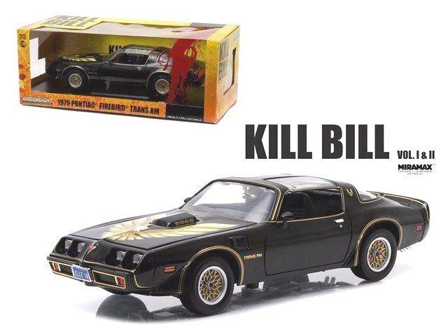 KILL BILL VOL 2 - 1979 PONTIAC FIREBIRD TRANS AM - 1 18 Scale GREENLIGHT