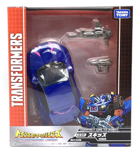 Transformers Takara Legends Cybertronian LG-20 LG20 SKIDS 100% Authentic MISB
