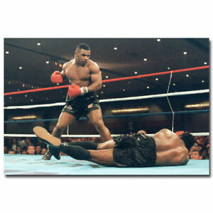Mike Tyson Boxer Boxing Sports Silk Wall Poster Vintage 13x20 24x36 inch 02