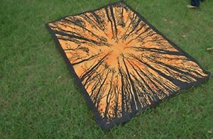 Indian-LOCUST-TREE-TRADITIONAL-Poster-Wall-Hanging-Cotton-Home-Decor-Table-Throw