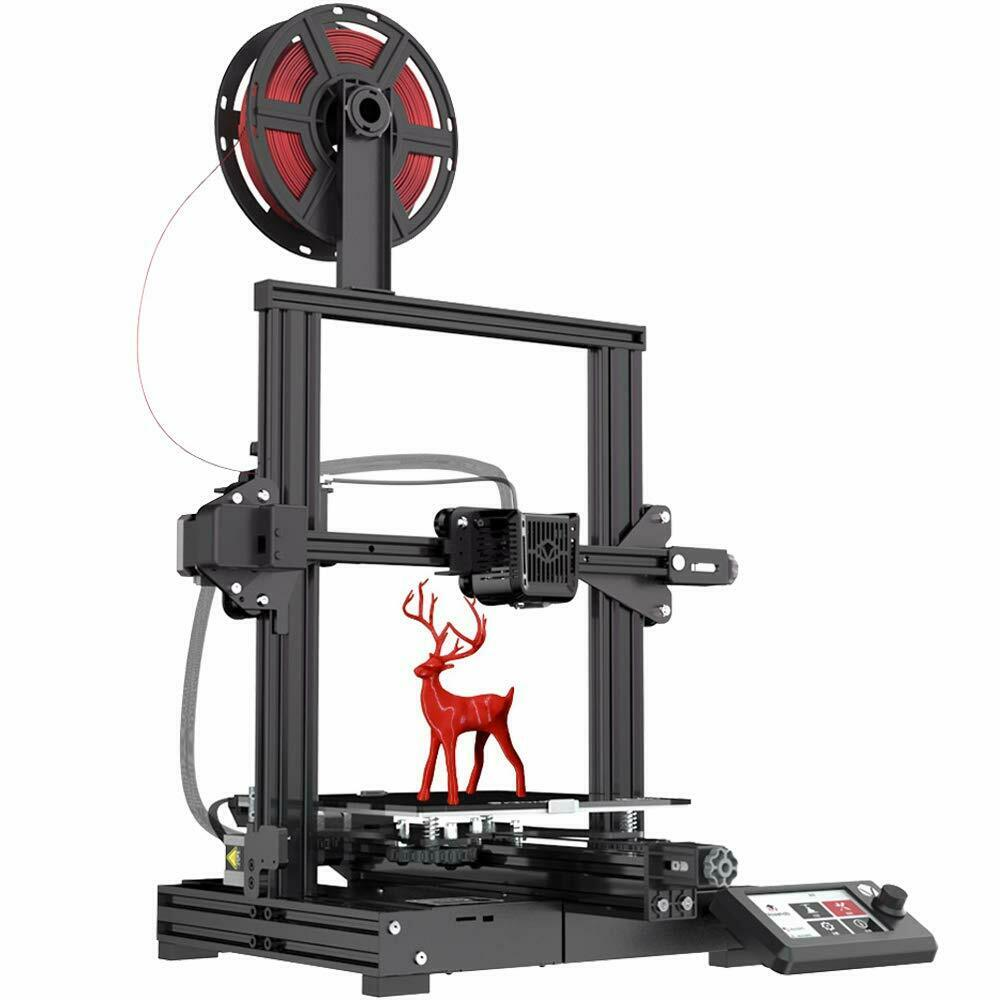 Voxelab Aquila 3D Printers All Metal with Removable Carborundum Glass Platform