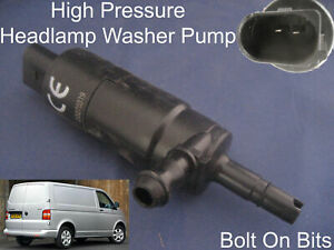 Headlamp-Headlight-Washer-Spray-Cleaning-Pump-VW-Transporter-T5-Caravelle