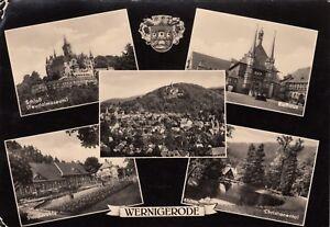 Wernigerode-Ansichtskarte-1958-gelaufen
