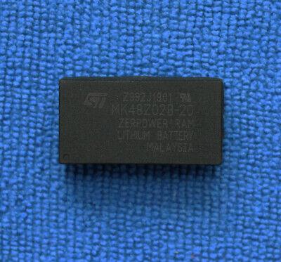 1pcs MK48Z02B-20 MK48Z02B 2K X 8 XEROPOWER SRAM SGS-THOM DIP-24