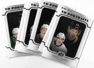 2019-20-Upper-deck-Series-1-UD-PORTRAITS-U-pick-From-List-P1-P50-Hughes-Poehling
