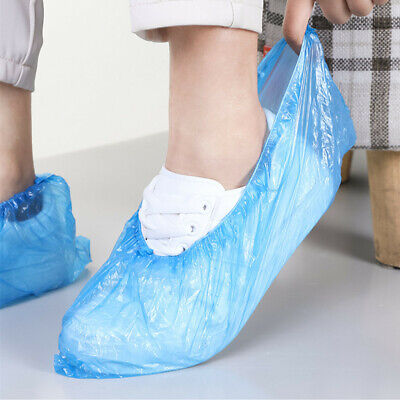 30 PCS Disposable Shoe Covers Overshoes Carpet Floor Boot Protector Cover
