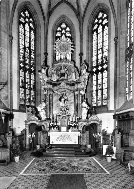 AK, Brakel Kr. Höxter, St. Michaeliskirche, Innenansicht 2, 1980
