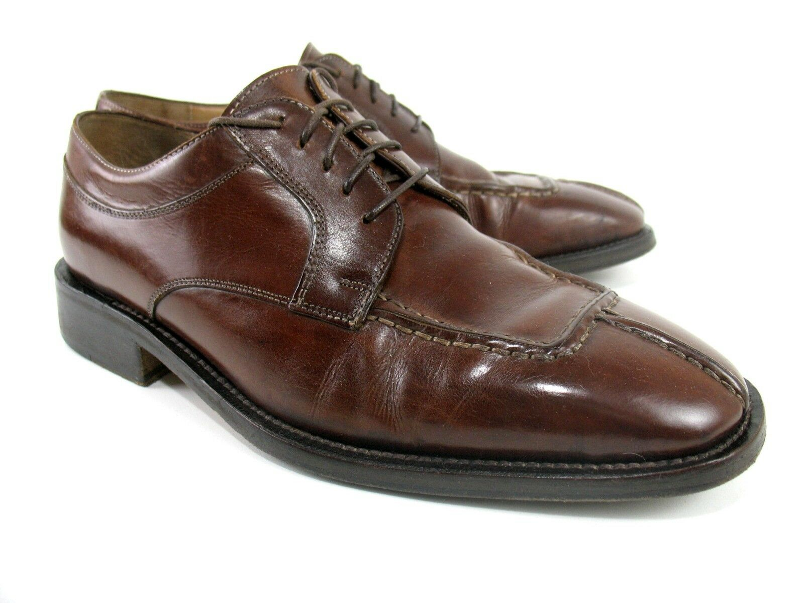 Cole Haan Country - Split Toe Oxfords - Brown Pelle - C00547 - Size 9 M
