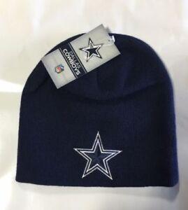 8a7467be2 Details about DALLAS COWBOYS BIG STAR Knit Beanie Winter Hat Toque Skull  Cap, NEW, DARK BLUE