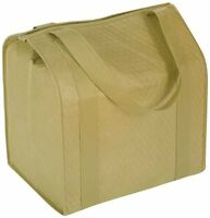 Hannah Insulated Shopping Bag, Khaki, New, Free Shipping