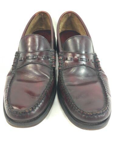 instappers schoenen 9 bordeaux op heren Bean leer Ll slip D 5AL4jR