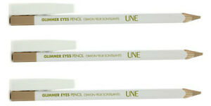 BOURJOIS-UNE-brillant-Yeux-Crayon-Eye-liner-paillettes-beige-G02-pack-de-3
