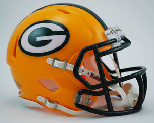 GREEN-BAY-PACKERS-NFL-Riddell-SPEED-Mini-Football-Helmet