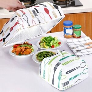 Image is loading New-Food-Cover-Foldable-Insulated-Aluminum-Foil-Kitchen-  sc 1 st  eBay : tent aluminum foil - memphite.com