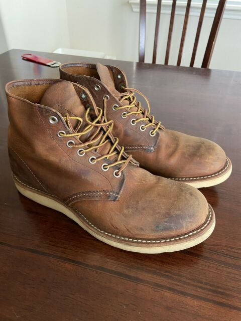 Red Wing 8166 Men Size 9 D Wedge Sole