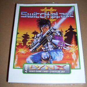 Atari-Lynx-Jeu-video-console-portable-Cartouche-Switchblade-II-neuf-en-boite-scellee