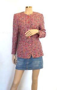 Bright 12 basler in lana Pink Uk e Tweed cotone Fabulous Giacca xEB1nwfx
