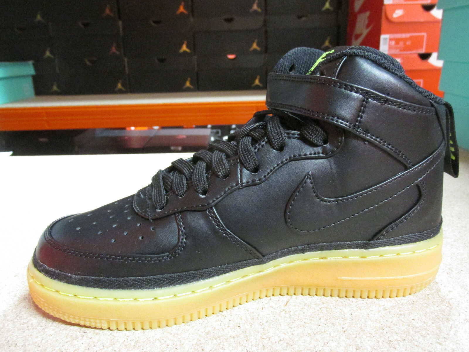 Nike Air Force 1 Mid LV8 (GS) Hi 820342 Top Trainers 820342 Hi 004 Sneakers Schuhes 2d7ca5