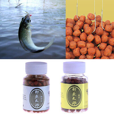 50x Soft Lure Red Worms Earth Worm Fishing Baits Trout fish Lures tackle 3.5cm