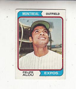 1974-TOPPS-BASEBALL-CARD-485-FELIPE-ALOU-MONTREAL-EXPOS-EX