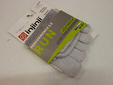 INJINJI TOE SOCKS RUN 2.0 LIGHTWEIGHT NO SHOW GREY SIZE S