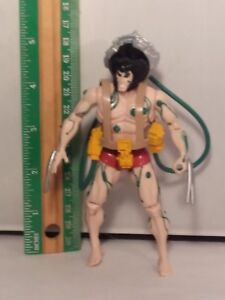 1992-ToyBiz-Marvel-The-Uncanny-X-Men-Weapon-X-Wolverine-Action-Figure-Green-Rare