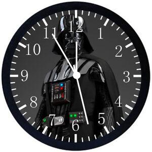 68c7fd0e7ef Star Wars Anakin Skywalker Darth Vader Black Frame Wall Clock Decor ...