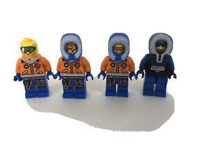 Lego Minifigure City Arctic Explorer Male Orange Goggles Cty0492