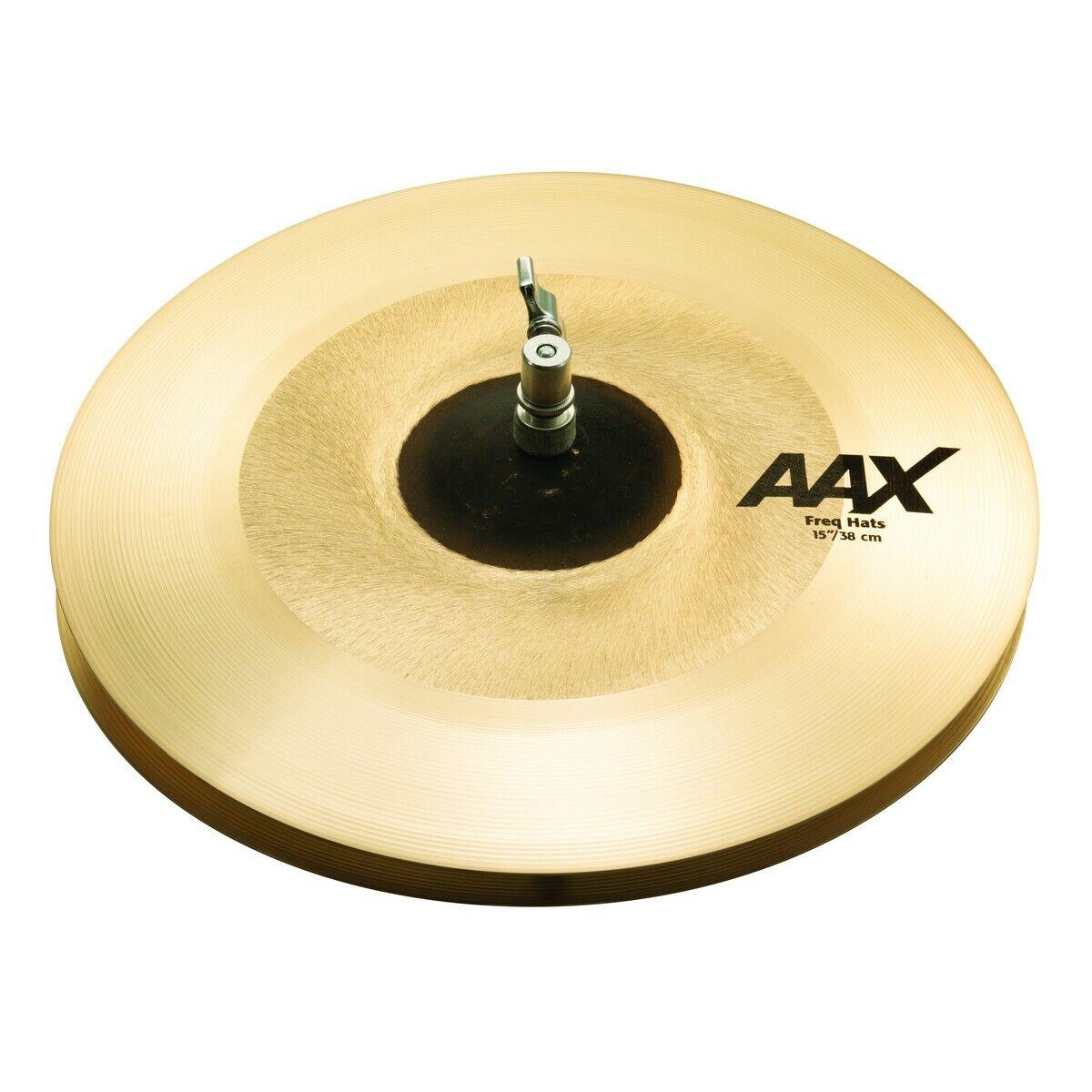 Sabian 15  AAX Freq Hi-Hat Cymbals 215XFHN