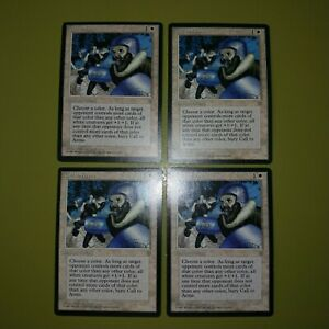 Call-to-Arms-x4-Ice-Age-4x-Playset-Magic-the-Gathering-MTG