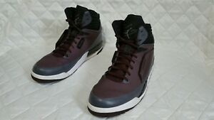 a655a9b38fc62f Nike Men Air Jordan Flight 97 Purple Gray White Black 654265 609 Sz ...