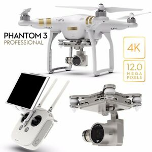DJI Phantom 3 Professional Pro 4K Quadcopter Drone Camera 3-Axis...