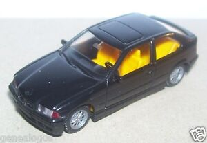 MICRO-WIKING-HO-1-87-BMW-SERIE-3-COMPACT-NOIRE