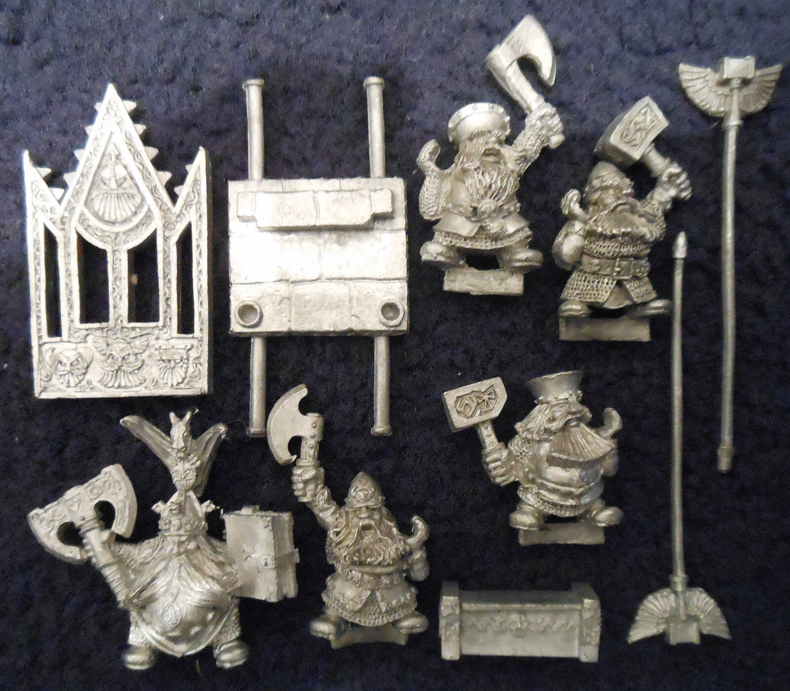 1992 dwarf king's throne of power 0828 citadelle thorgrim nains warhammer armée