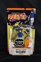 Shonen Jump's Naruto Tornado Attack Sasuke Uchiha 2006 Mattel Figure