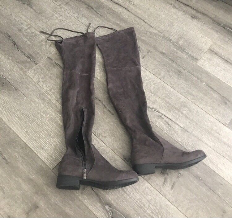 New Without Box Catherine Malandrino Over The Knee Thigh High Boots Brown 8.5