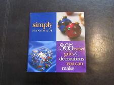 simply handmade - 1998 hardcover