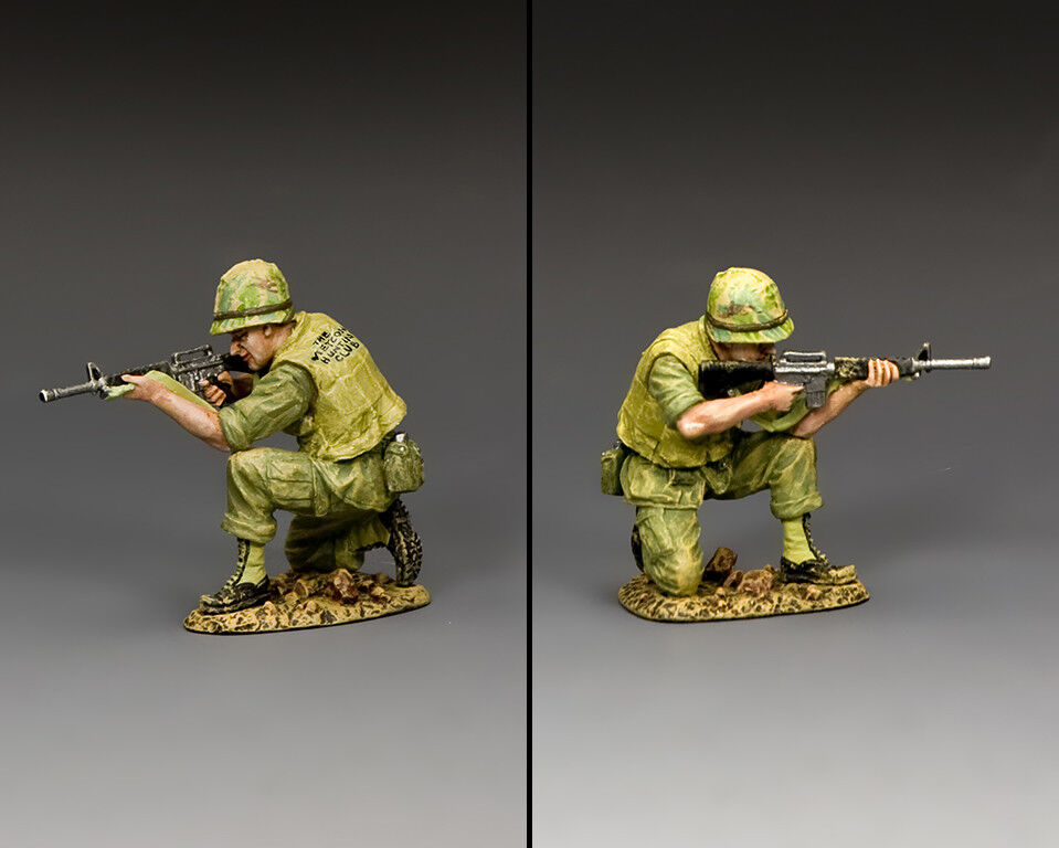 KING AND COUNTRY Vietnam War - Kneeling Marine Rifleman VN038