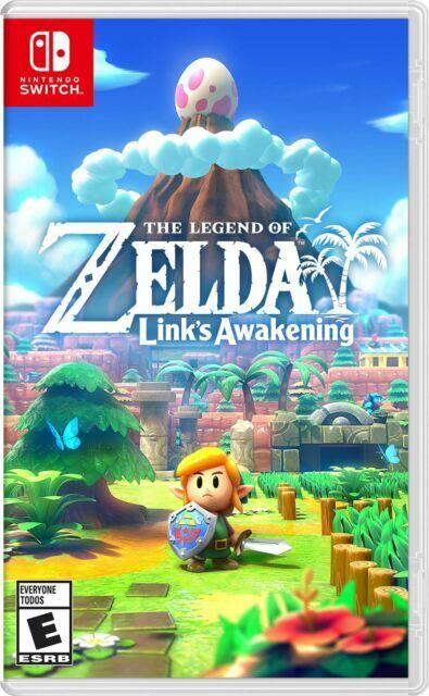 The Legend Of Zelda Link s Awakening Nintendo Switch, 2019  - $37.00