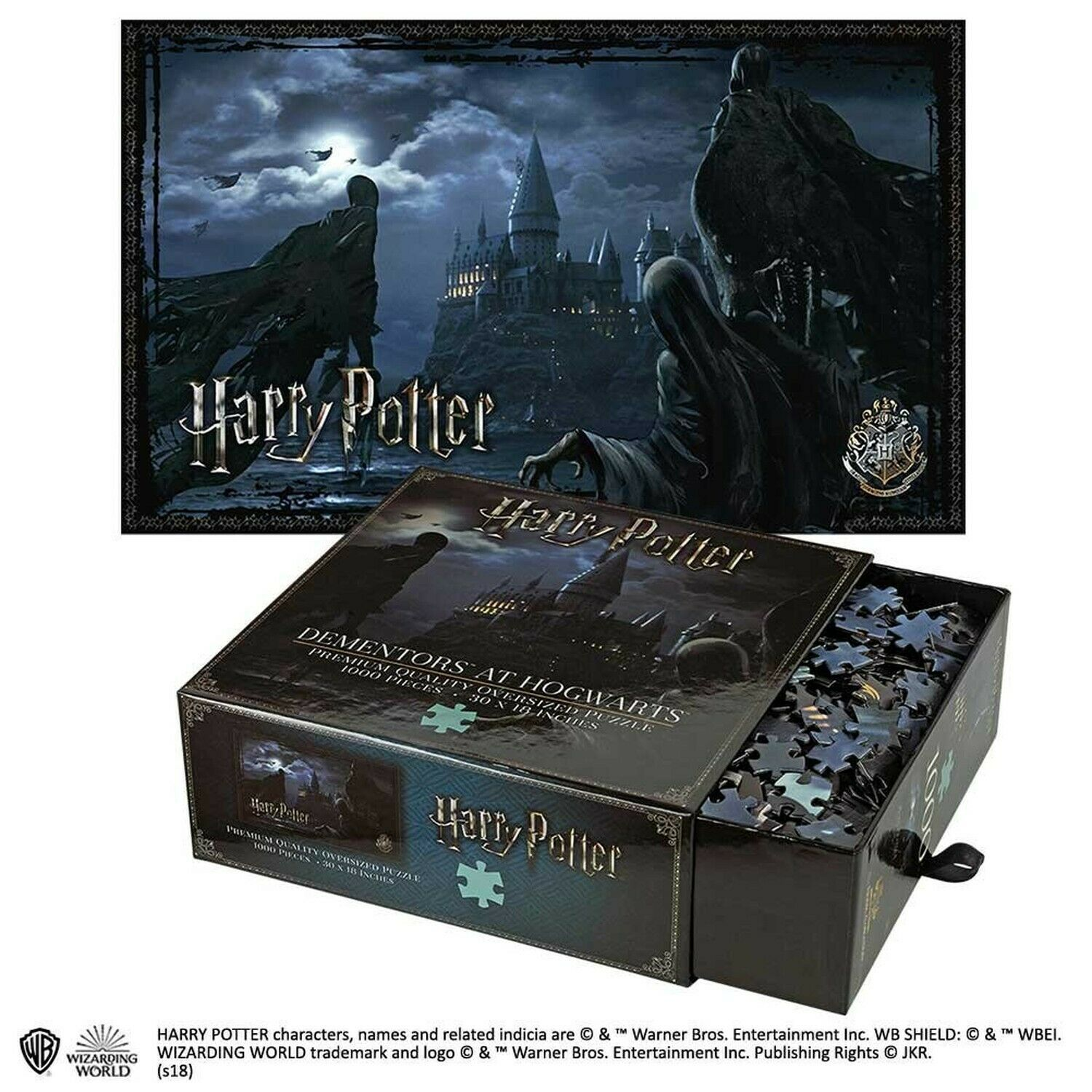 The Noble Noble Noble Collection Dementors at Hogwarts 1 000pc Jigsaw Puzzle 4a9b4f