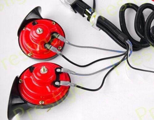 12V Horn Wiring Harness Relay Kit Car Grille Mount Blast Tone Horns for MERCURY