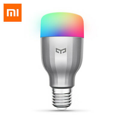 E27 Xiaomi yeelight RGBW Inteligente Bombilla LED incluye WIFI 16million AC220V