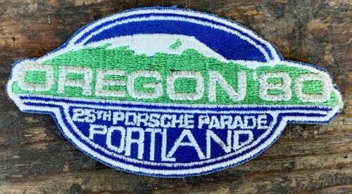 PORSCHE 356 911 PORSCHE PARADE PATCH 1980 PORTLAND