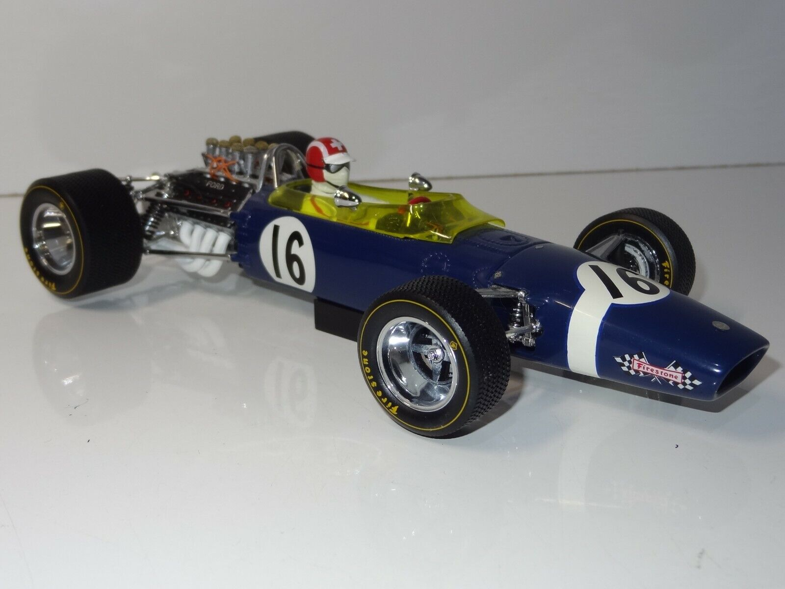 (W) EXOTO 1 18 97004 Lotus Ford 49 Jo Siffert 1968 Spanish F1 Grand Prix BOXED