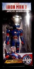 IRON MAN - Iron Patriot - BOBBLE HEAD / WACKELKOPF / WOBBLER