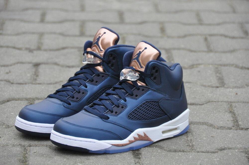 Nike Air Jordan 5 Retro Gs bronze Tongue 440888-416 Chaussures de sport pour hommes et femmes