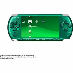 SONY-PSP-3000-Console-Green-VGC-Warranty