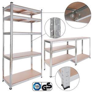 Etagere-Charge-Lourde-Metallique-Rangement-Objets-Lourds-90x40x180cm-875-kg