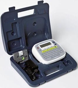 Beschriftungsgerät Brother P-touch D200 VP für TZe-231 mit Koffer und Netzteil